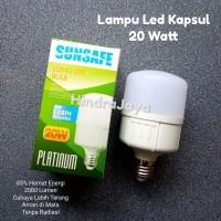 Lampu Led Kapsul 20W / Led Jumbo 20 Watt Sunsafe Platinum