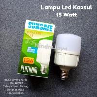 Lampu Led Kapsul / Led Jumbo 15 Watt Sunsafe Platinum