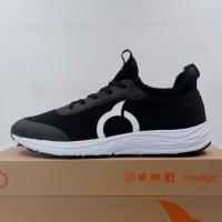 Sepatu Lari/Running Ortuseight Harvard Black White 11030078 Original