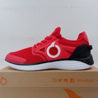 Sepatu Lari/Running Ortuseight Manzana Red White 11030046 Original