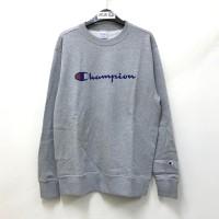 Champion Crewneck Sweater Grey 100% Original