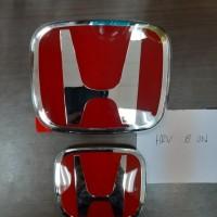Emblem set mobil Honda HRV 18 on