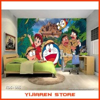 3D Wallpaper Dinding Wall Sticker| Motif Doraemon - KDS 006-007-008