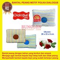 Dialogue Baby Bantal Peang Motif Polka DLB 3335