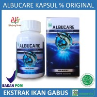 ALBUCARE - Walatra Albumin Ekstrak Ikan Gabus Asli 100% Original Baru