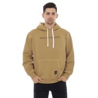 Sweater Hoodie Pria Cottonology Feel Khaki