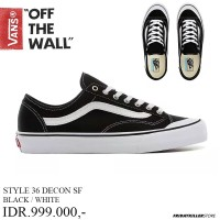 VANS OFF THE WALL | STYLE 36 DECON BLK | SEPATU