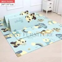 Best PlayMat Bayi Karpet Lipat Lantai Anak Bermain Merangkak 200x150 c