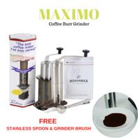 Maximo Ceramic Burr Hand Coffee Grinder Mesin Penggiling Kopi Manual