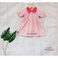 Baju Dress Baby Batik Anak Perempuan Model 2