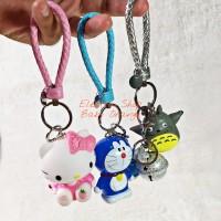 Gantungan Kunci Rumah Mobil Lemari dan Tas Lonceng Karakter Doraemon