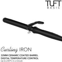 Promo Awal tahun TUFT BASIC Curling Iron 32mm 7319 / Catokan Curly Big