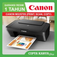 PRINTER CANON PIXMA MG2570S / MG 2570S Printer All In One Garansi Resm