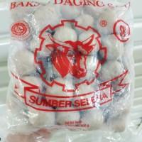 Bakso Daging Sapi Asli Sumber Selera SB BPOM 239531037093 isi : 50 pcs