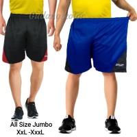 Celana pendek Pria polos/Celana pendek Sport Big Size Jumbo - Spt
