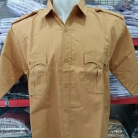 Baju Pramuka SMA / Seragam Baju Pramuka SMP / SMA Lengan Pendek
