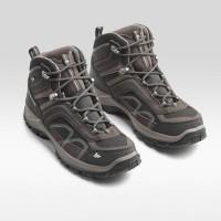 Sepatu gunung quechua sepatu hiking waterproof sepatu trakling
