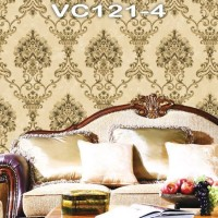 Wallpaper Dinding Classic Damask VICTORY VC121-1 - 121-4