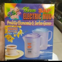 Teko Listrik Plastik / Elektrikc Kettle SAP-9759