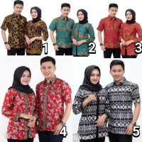 sarimbit batik couple sogan fashion atasan