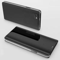 Flip Case Mirror Vivo Y53 Clear view Standing Cover/Sarung