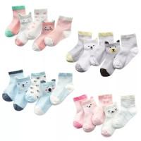 5 pasang kaos kaki impor untuk bayi anak laki perempuan