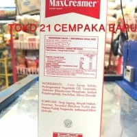 MAX CREAMER REFILL 500g |Non Dairy Krim Krimer MaxCreamer Nabati 500 g