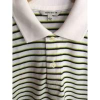 Kaos polo stripe UNIQLO Original kaos polo shirt cowok cewek kaos