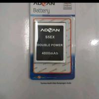 Baterai Advan S5EX Double Power /4800mAh/batrei