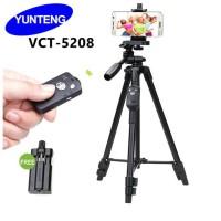 Tripod BLUETOOTH Yunteng VCT-5208 1,25Cm / 1 Meter Standing Hp dan