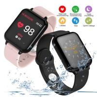 B57 Bluetooth Anti Air Smart Band Heart Rate Monitor Smartwatch