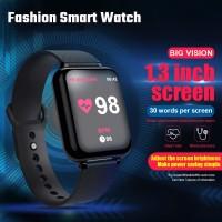 B57 Smartwatch Sport Anti Air IP67 dengan Monitor Detak Jantung /
