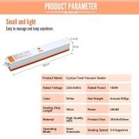 mesin vacuum sealer makanan mini 100W-plastic sealer-vakum sealer