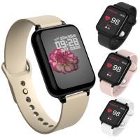 B57 Smartwatch Anti Air Fungsi Monitor Detak Jantung / Tekanan Darah