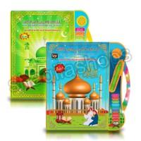 Mainan Edukasi Anak Buku Pintar Elektronik Anak 4 Bahasa Free Bat