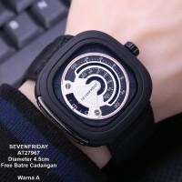 Jam Tangan Pria SEVENFRIDAY Kulit AT2797 Super