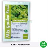Benih-Bibit Basil Genovese - Mix Garden