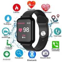 B57 Smartwatch dengan Monitor Detak Jantung / Tekanan Darah /