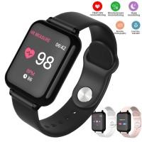 B57 Smartwatch Sport Anti Air IP67 Fungsi Monitor Detak Jantung /