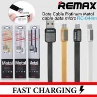 Kabel Data Remax Metal / Platinum Fast Charging Micro USB Android