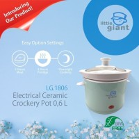 Little Giant LG 1806 Electrical 0.6L Slow Cooker