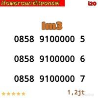Perdana Nomor Cantik IM3 0858 seri panca 00000 5 i02