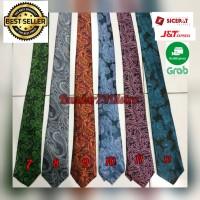 Dasi Pria Motif Batik Import Ukuran 3 inchi