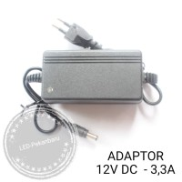ADAPTOR 12V 3.3A POWER SUPPLY 12 VOLT 3,3 AMPERE JACK DC 5.5MM