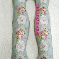 bantal hamil bunga krem isi + sarung