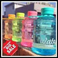 (SALEE) Botol Minum Galon Mini Water 650 ml