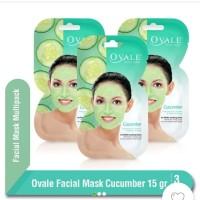Ovale Facial mask Cucumbar 15 g