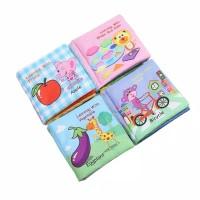 Buku Kain Bayi Bunyi Nyit Nyit/Softbook Buku Bantal /Soft book