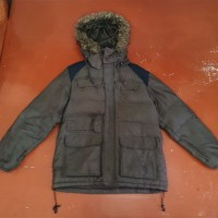 Jaket Adidas Men Arctic Hoodie Down Bulang PreLoved Bekas Original