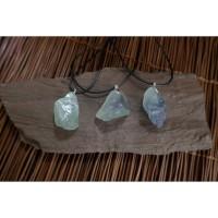 Kalung Liontin Batu Crystal Flourite Quartz Natural G162